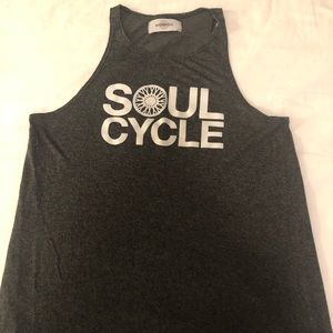 Gray SoulCycle Racerback Tank